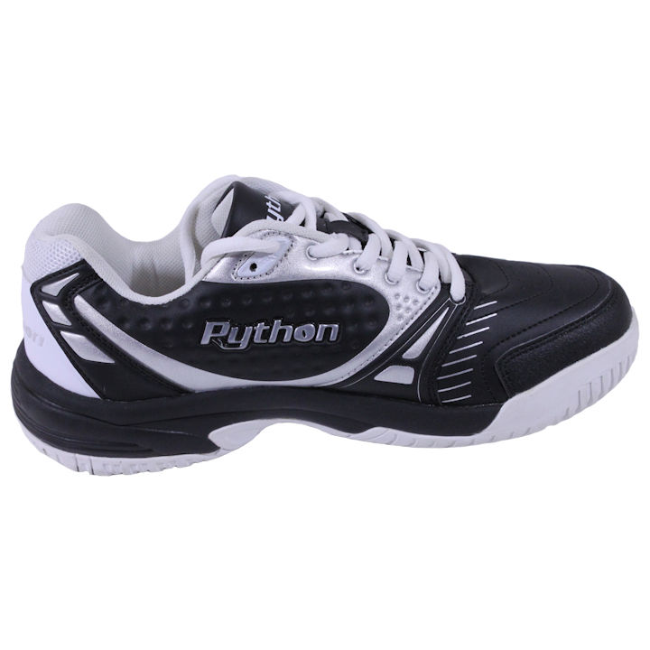 Python Deluxe Indoor Low BLACK Pickleball Shoes (PY-722BL)