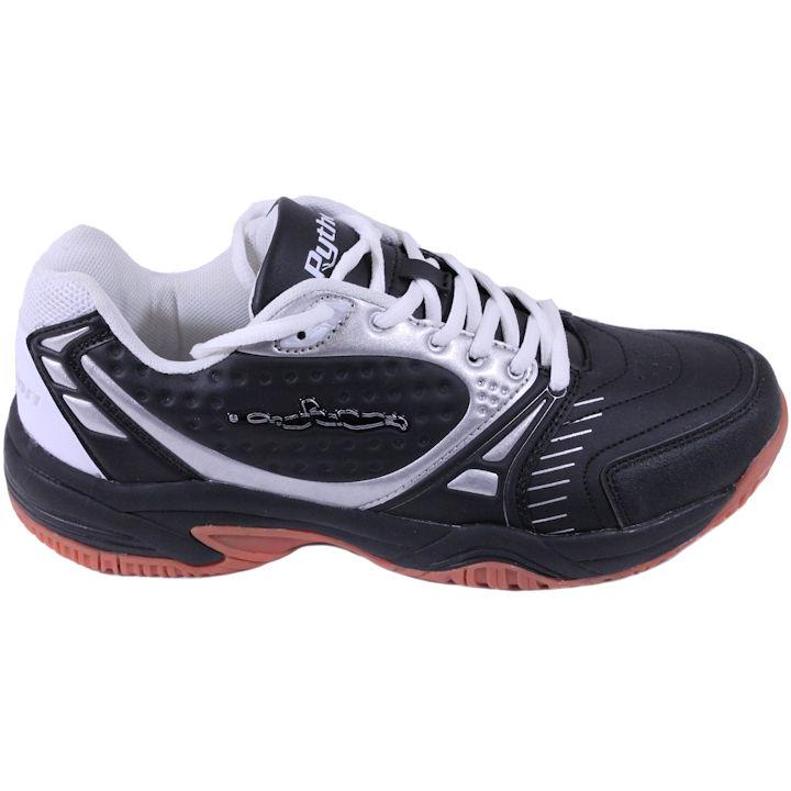 Python Deluxe RUBEN GONZALZEZ RG Indoor Low BLACK Pickleball Shoes (PY-722BLDG)