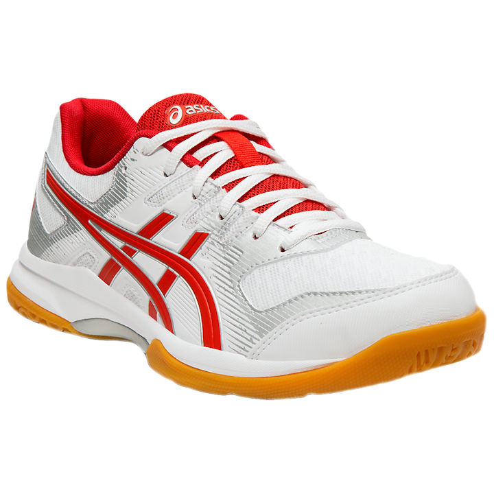 ASICS Rocket 9 Women's Shoe (White/Classic Red) (1072A034.101)