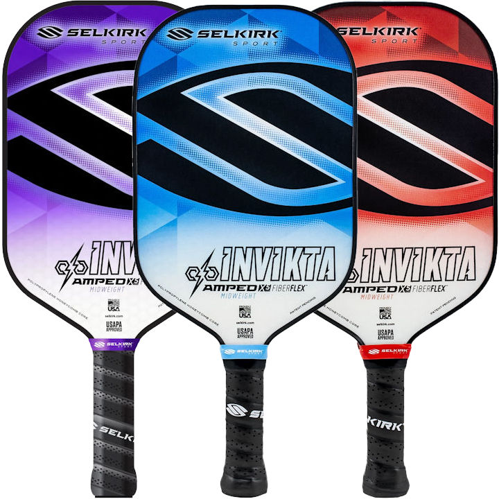 Selkirk AMPED Invikta Midweight Pickleball Paddle