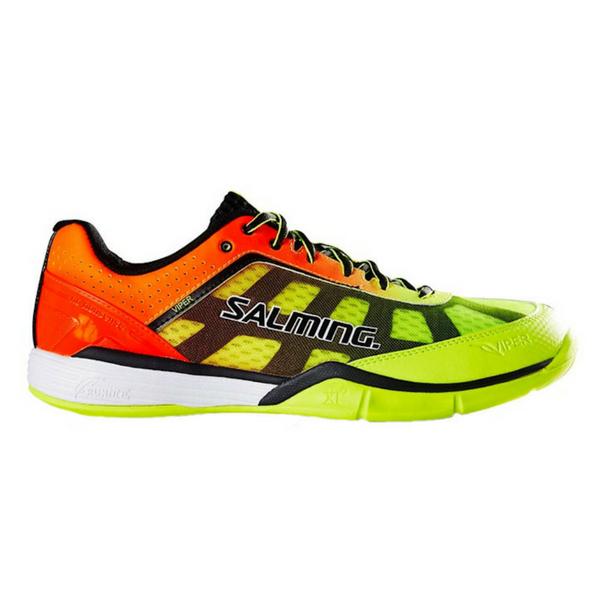 Salming Men's Viper 4 Yellow/Orange Shoes (1237071-0908)