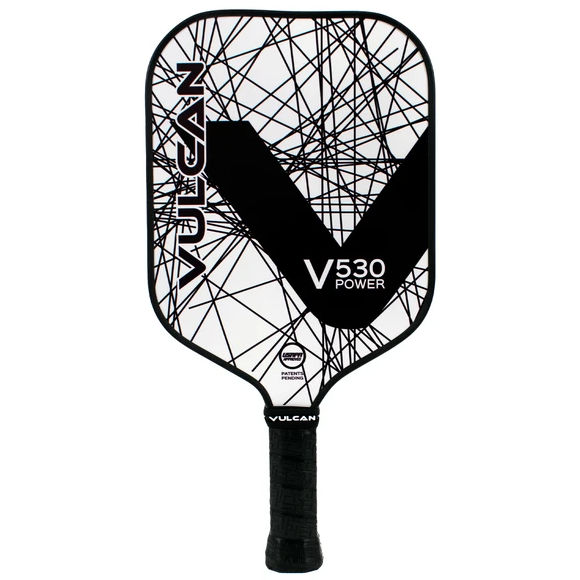 Vulcan V530 Power (Black Lazer) Pickleball Paddle