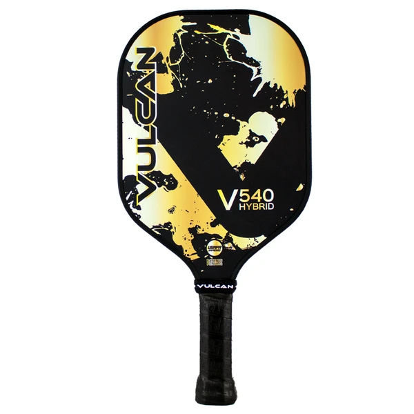Vulcan V540 Hybrid (Gold Splatter) Pickleball Paddle