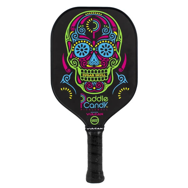 Vulcan Paddle Candy (Sugar Skull) Pickleball Paddle