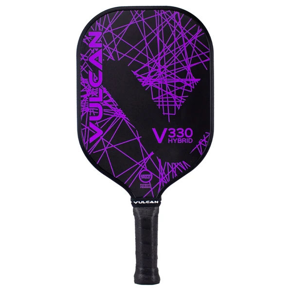Vulcan V330 Hybrid (Purple Lazer) Graphite Pickleball Paddle