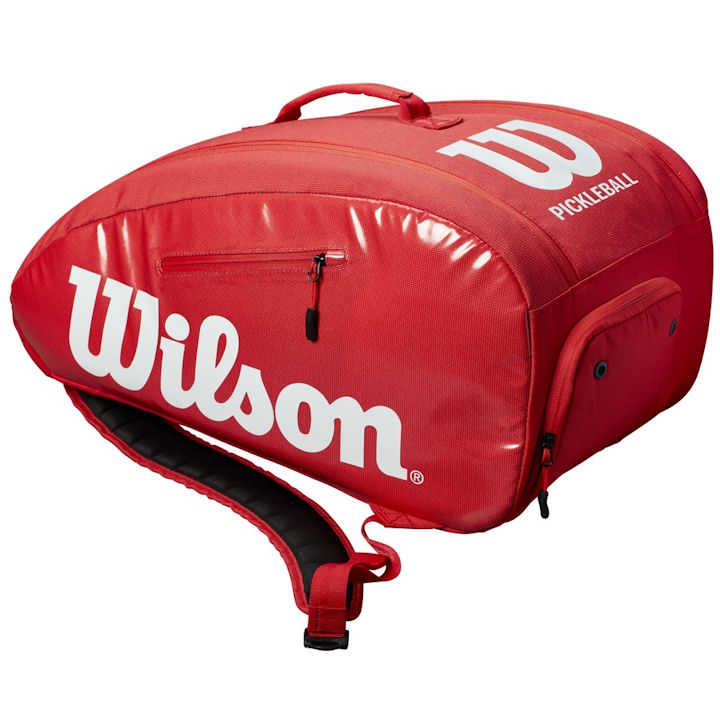 Wilson Super Tour Red Paddlepak Bag