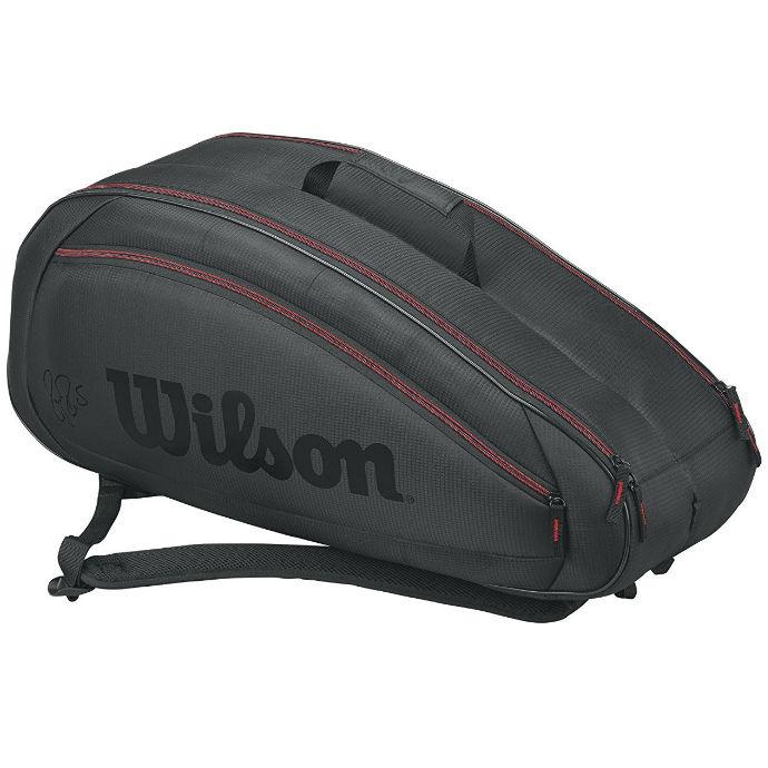 Wilson Federer Team 6-Pack Bag (Red/Black)