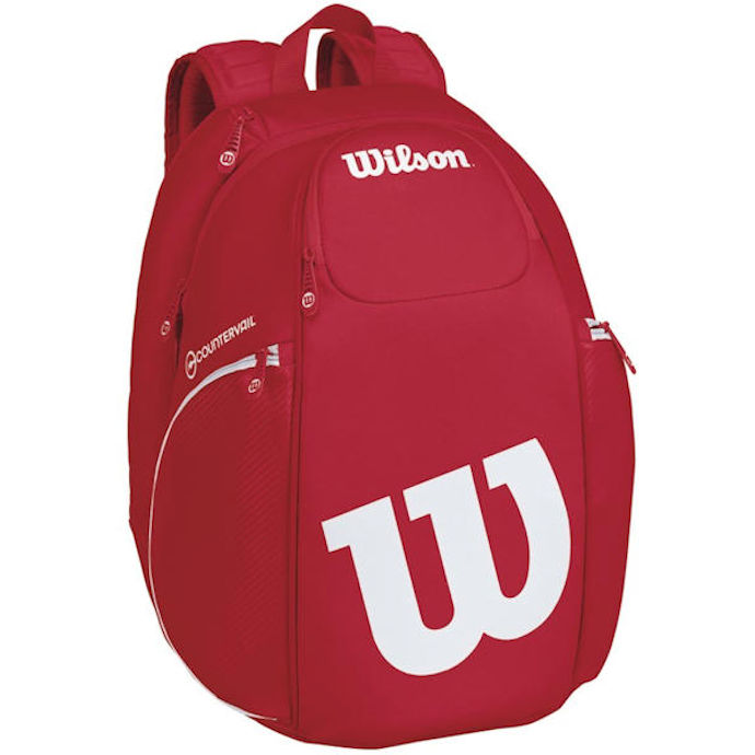 Wilson Pro Staff BackPack (Red/White)