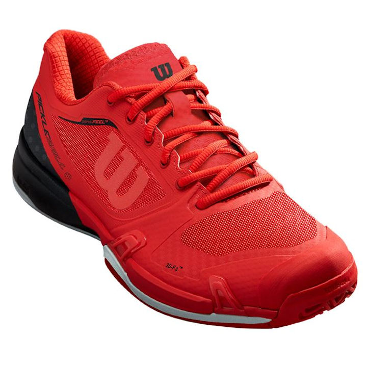 Wilson Rush Pro 2.5 Red Pickleball Shoe (WRS326700U)